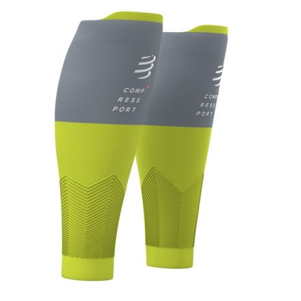 Compressport R2V2 | LIME/GREY