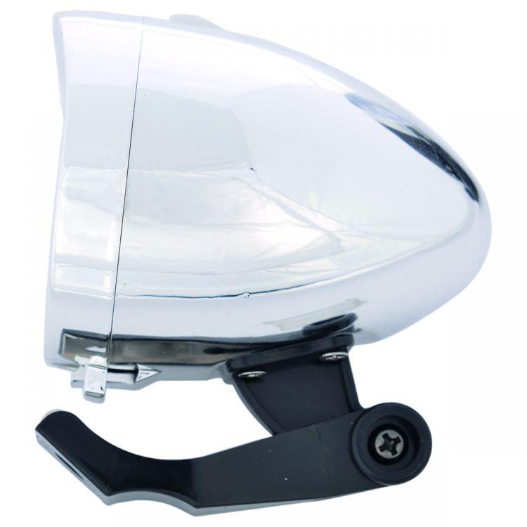 OXC Ultratorch Retro Przód 3 LED Chrome - Przednia lampka rowerowa