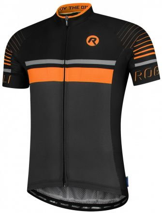 Rogelli Hero Jersey | GRAY/BLACK/ORANGE