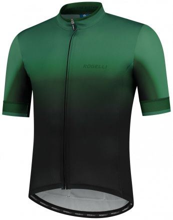 Rogelli Horizon Jersey SS | BLACK/GREEN