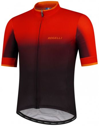 Rogelli Horizon Jersey SS | BLACK/RED/ORANGE