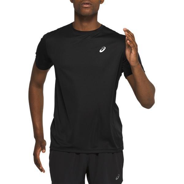 Asics Katakana SS Top | BLACK - męska koszulka treningowa
