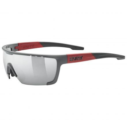 Uvex Sportstyle 707 | GREY RED MAT