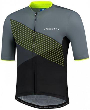 Rogelli Spike Jersey SS | BLACK/GREY/FLUOR