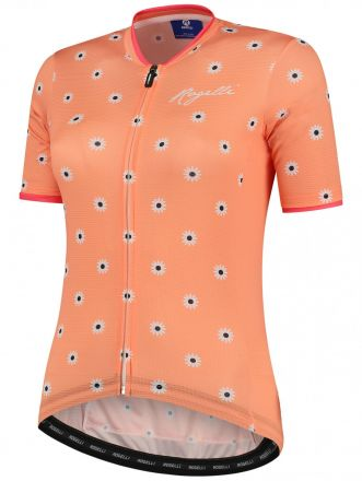Rogelli Lds Daisy Jersey SS | CORAL