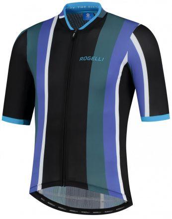 Rogelli Vintage Jersey SS | BLACK/GREEN/BLUE