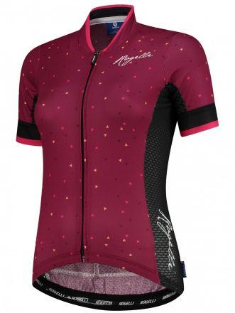 Rogelli Delta Lds Jersey SS | Cerise/Pink