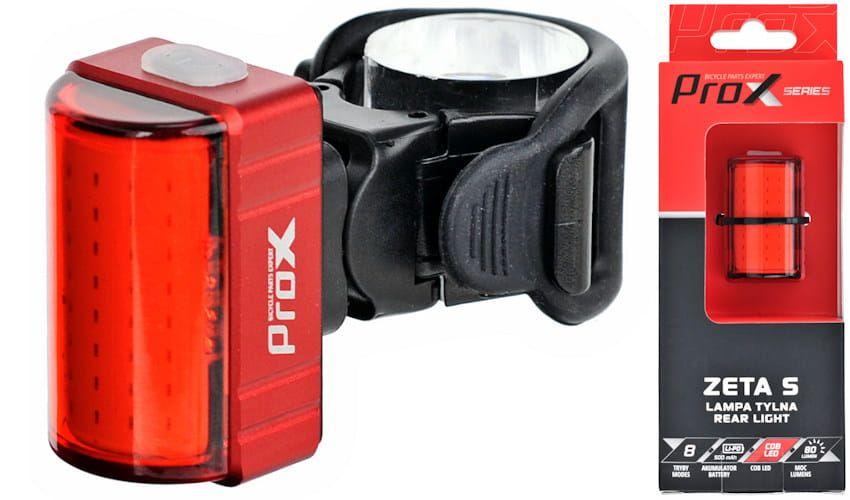 Prox Zeta S COB led 80lm USB 500mah - oświetlenie rowerowe