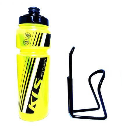 Set Kellys Namib 0,7 + OXC Bottle Cage | YELLOW