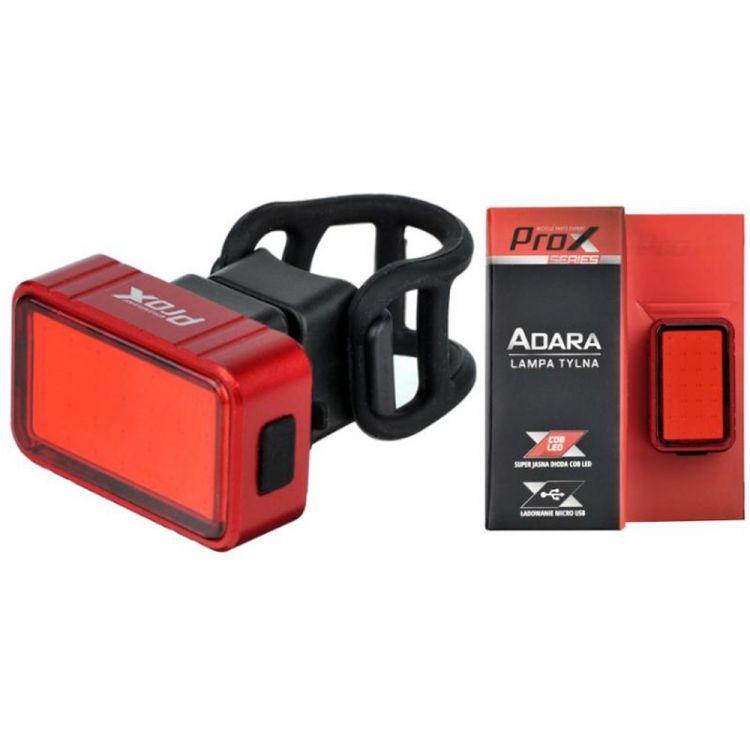 Prox Adara Cob Led 30 lm usb, 350 mah - tylne oświetlenie rowerowe