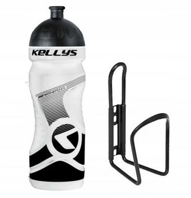 Set Kellys Sport 0,7 + OXC Bottle Cage | WHITE