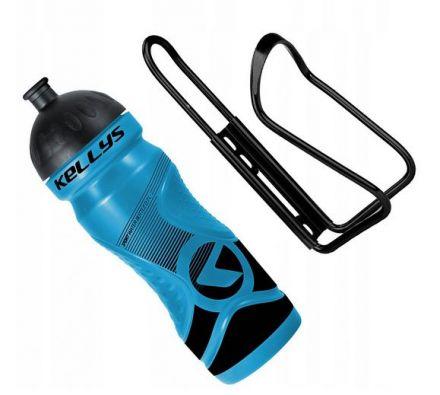 Set Kellys Sport 0,7 + Praxx Bottle Cage | BLUE