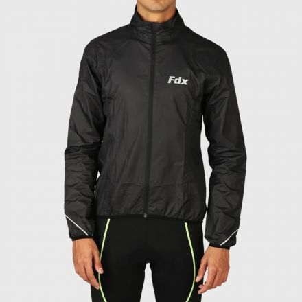 Fdx  Windproof & Waterproof  Cycling Jacket | BLACK