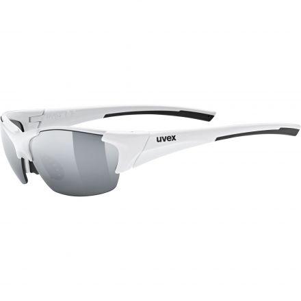 Uvex Blaze III 2.0    WHITE BLACK MAT