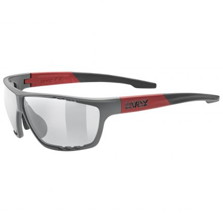 Uvex Sportstyle 706   GREY RED MAT