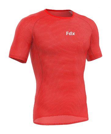 FDX Cool Mesh Base Layer Half Slave | RED