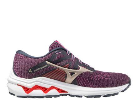 Mizuno Wave Inspire 17 | FIOLETOWE - damskie buty do bieganiaJ1GD214442