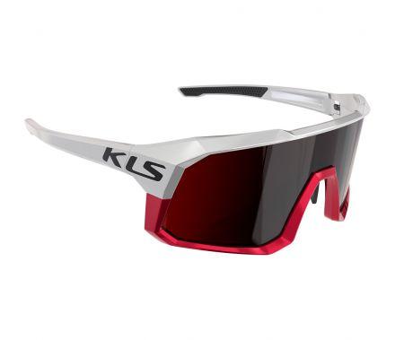 Kellys DICE II | WHITE - Uniwersalne okulary sportowe z wymiennymi szkłami
