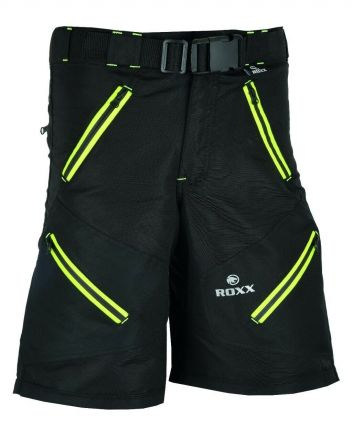 ROXX MTB Shorts  2.0 | CZARNO-FLUOR