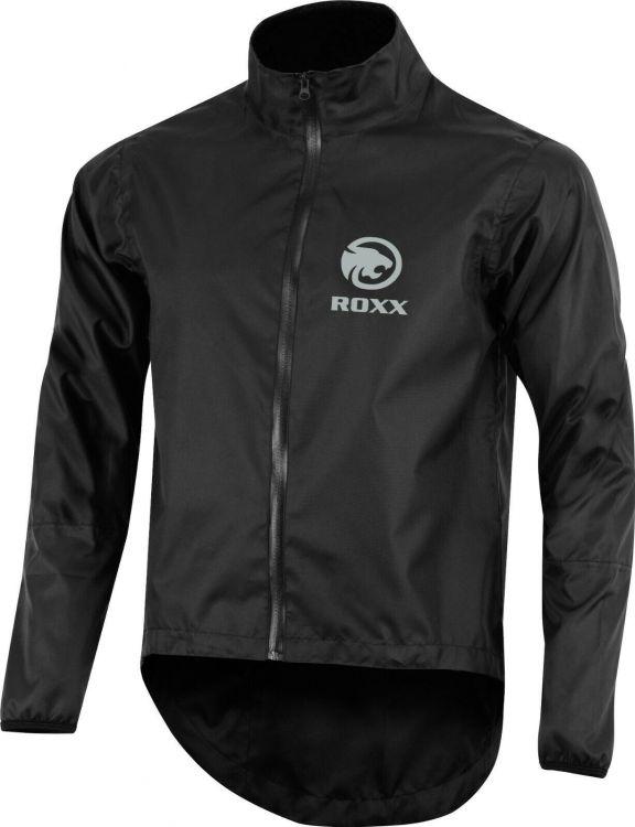 Roxx Rain Cycling Jacket   BLACK - kurtka rowerowa przeciwdeszczowa