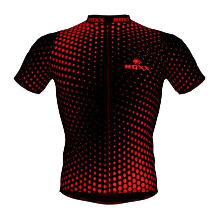 ROXX Cycling Jersey | CZARNO-CZERWONA
