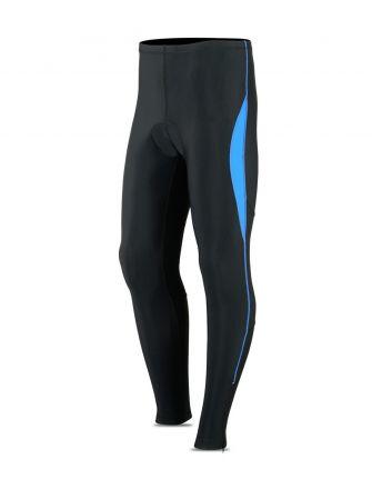 ROXX Men Lycra Trouser Foam Padded | CZARNO-NIEBIESKIE