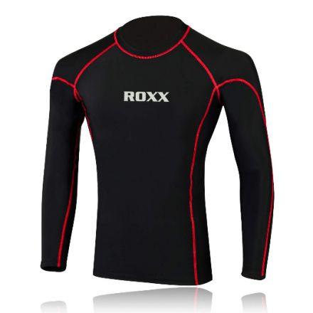ROXX Men Compression Shirt | CZARNO- CZERWONA