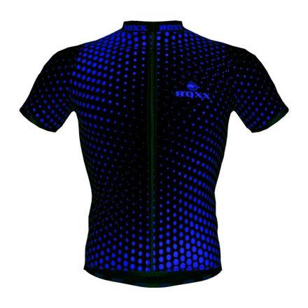 ROXX Cycling Jersey | CZARNO-NIEBIESKA