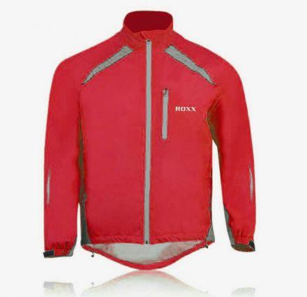 Roxx Cycling Waterproof Jacket | RED High Visible