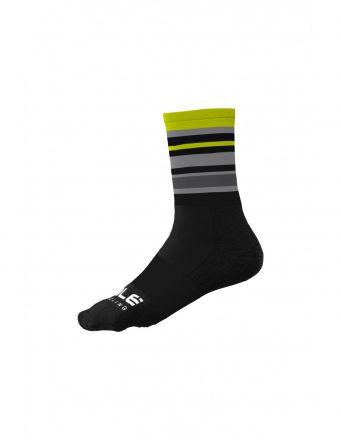 Alé Stripes Sock   BLACK/YELLOW