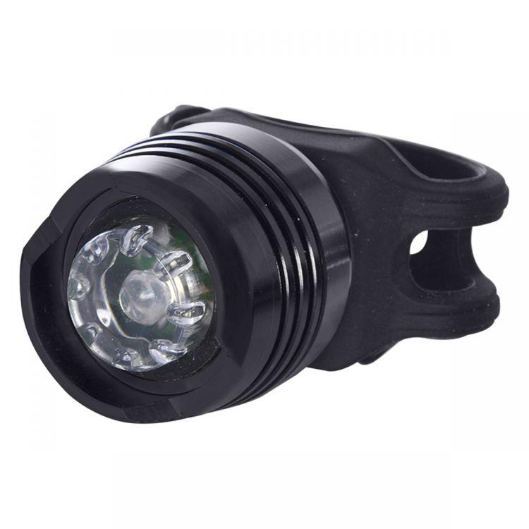OXC BrightSpot Front White OEM - mała przednia lampka rowerowa