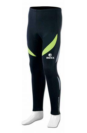ROXX Winter Men Roubaix Trouser Tights | CZARNO-ŻÓŁTE