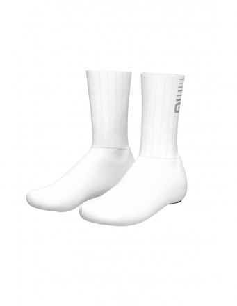 Alé Whizzy Shoecovers | WHITE/GREY