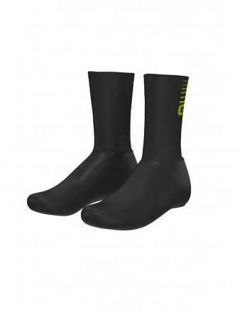 Alé Whizzy Shoecovers | BLACK/YELLOW
