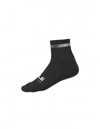 Alé Logo Q-Skin Socks   BLACK/WHITE
