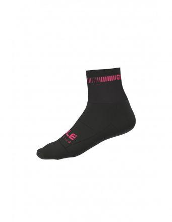 Alé Logo Q-Skin Socks   BLACK/PINK