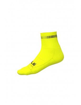 Alé Logo Q-Skin Socks   YELLOW/BLACK