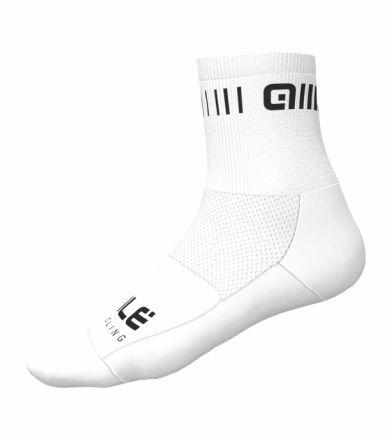 Alé Strada Q-Skin Socks   WHITE/BLACK