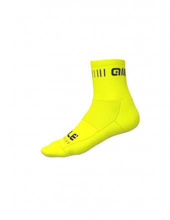 Alé Strada Q-Skin Socks   YELLOW/BLACK