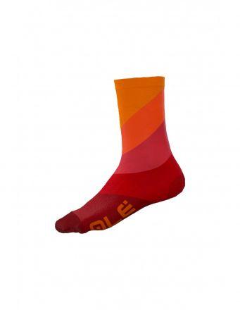 Alé Diagonal Digitopress Socks   ROSSO/RED