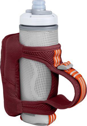 CamelBak Quick Grip Chill 500ml | Silver/Purple - bidon do biegania z praktyczną kieszonką.