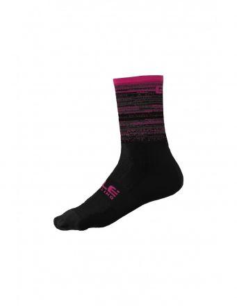 Alé Scanner Socks   BLACK/CYCLAMEN