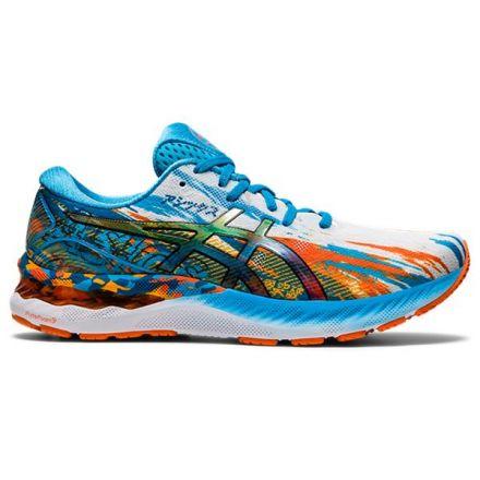 Asics Gel Nimbus 23 | DIGITAL AQUA/ORANGE - Męskie buty do biegania