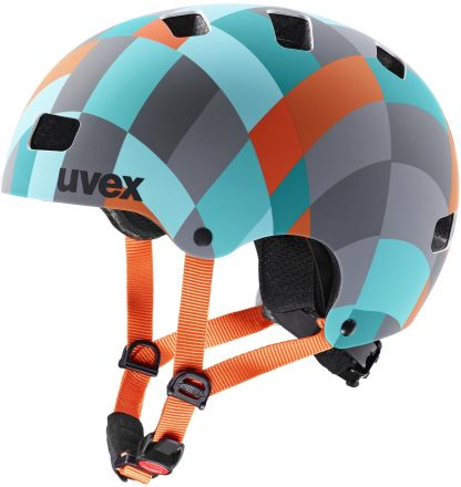Uvex Kid 3 CC | Green checkered