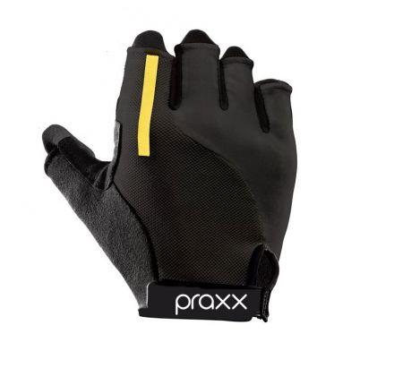 Praxx Men Cycling Gloves | CZARNO-ŻÓŁTE