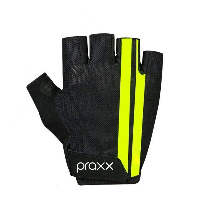 Praxx Men Cycling Gloves   CZARNO-ŻÓŁTE