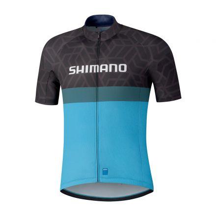 Shimano Team Jersey   Black/Blue