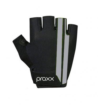 Praxx Men Cycling Gloves | CZARNO-SZARE