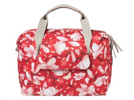 Basil Magnolia Carry All Bag | Magnolia Poppy Red