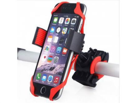 PRAXX Link Smartphone Holder 360° | Black/Red